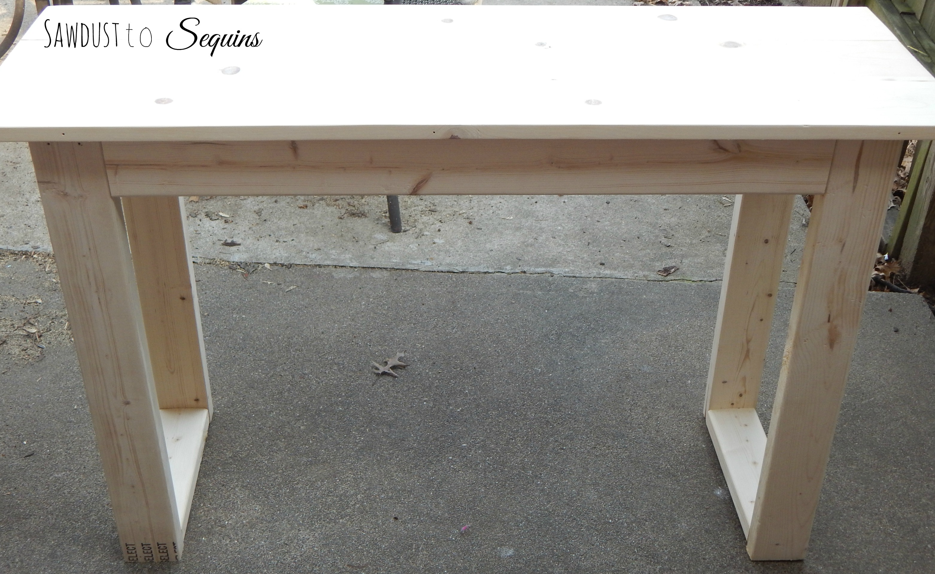 Diy 25 Console Table