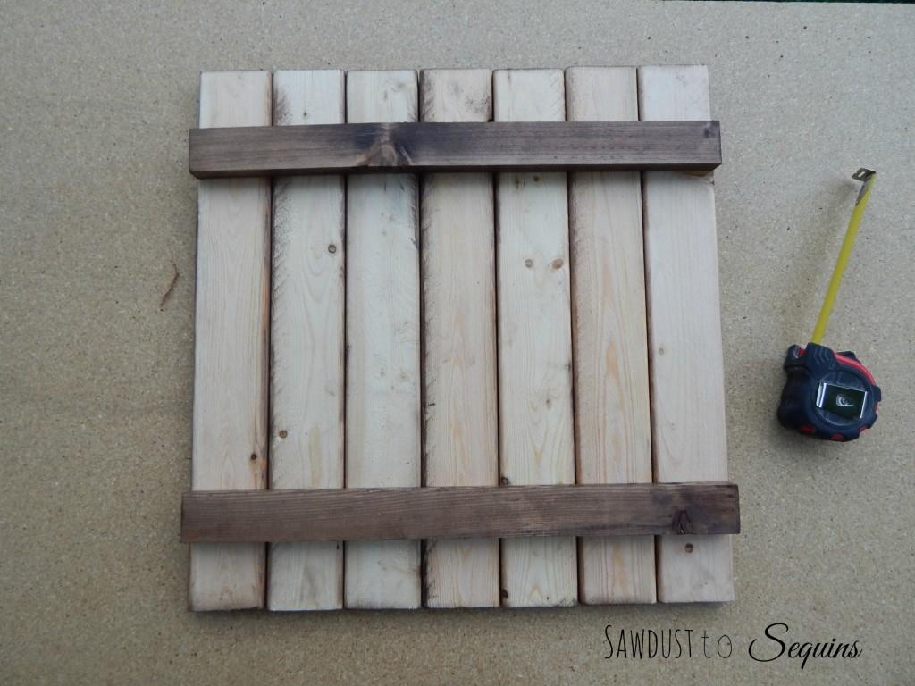 Arhaus End Table Post16