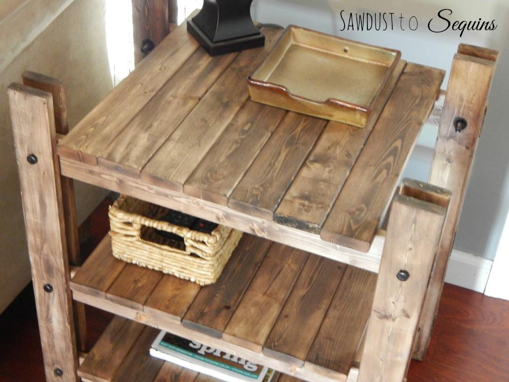 Arhaus End Table Post22