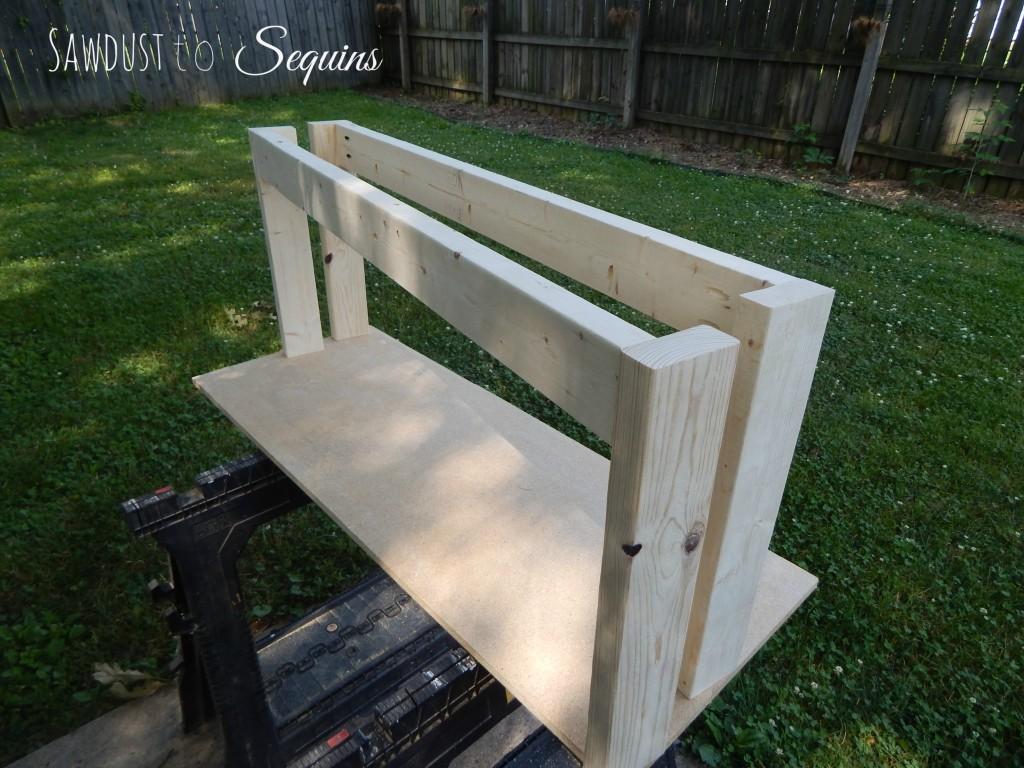 Fabric Dressing Bench4