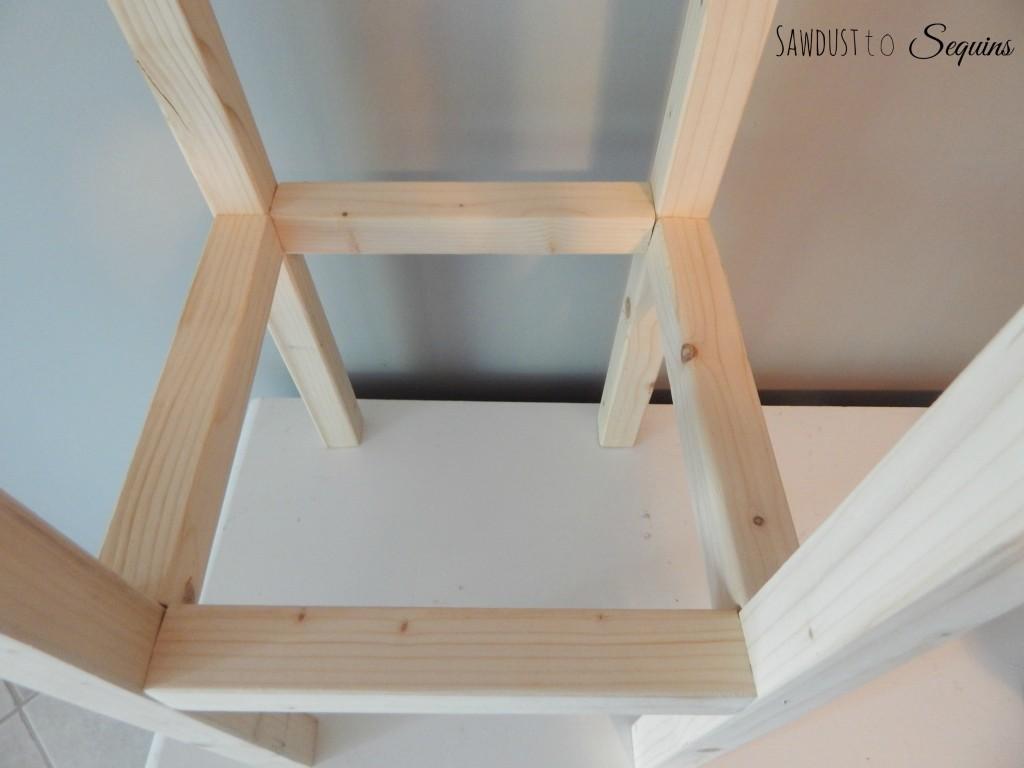 Tiled End Table Base