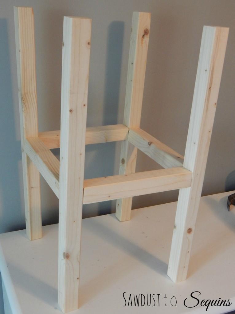 Tiled End Table Base 2