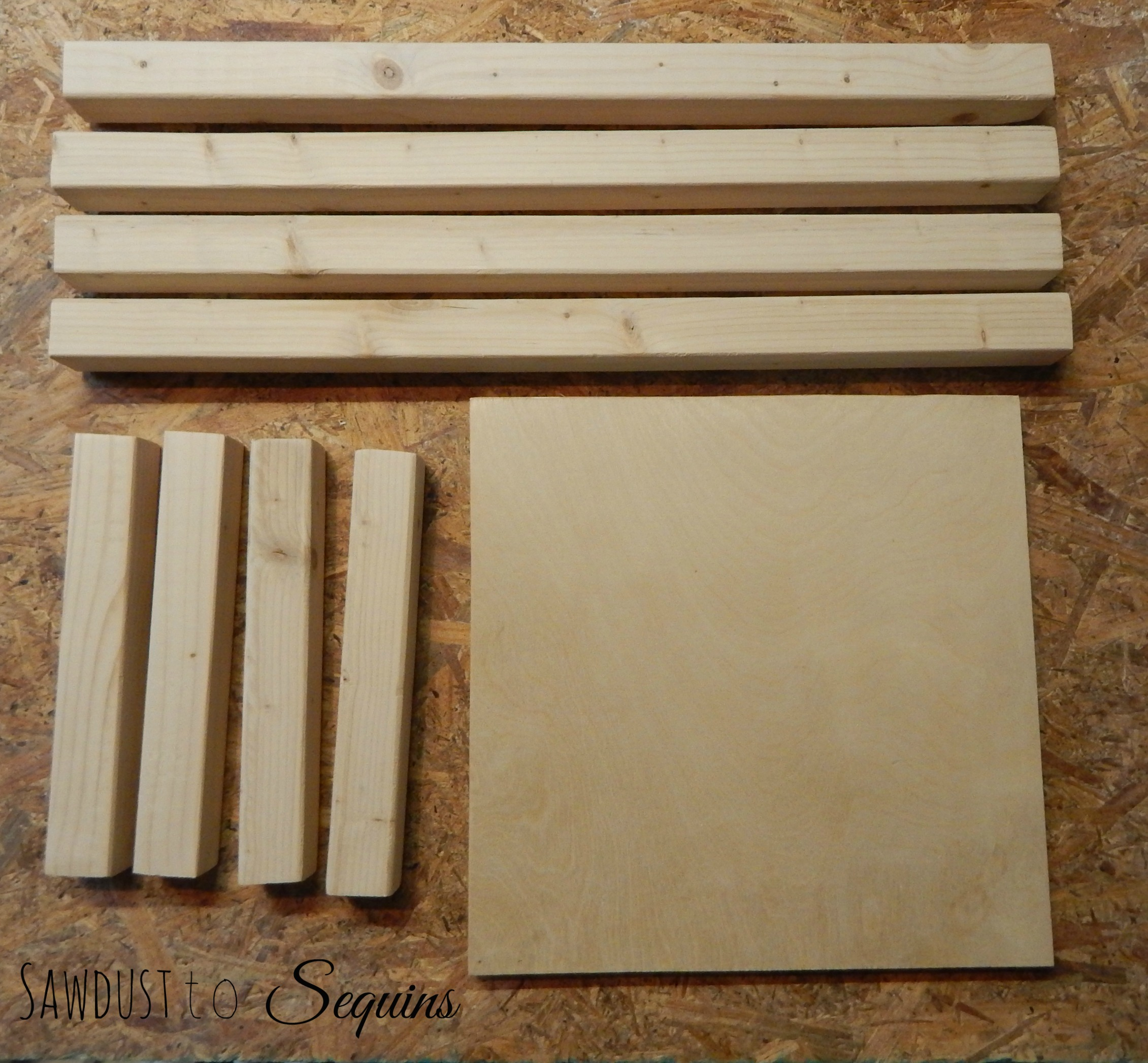 Tiled End Table Boards