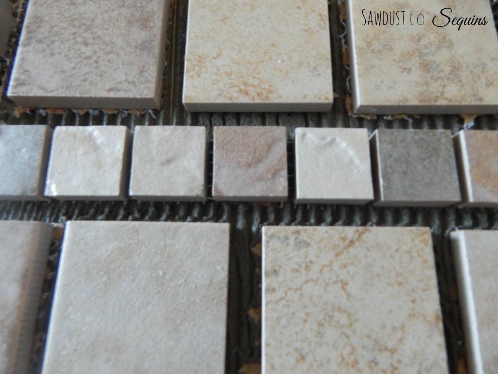 Tiled End Table Tile1
