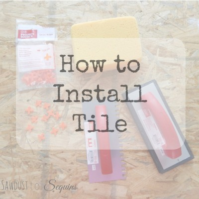How to Install Tile