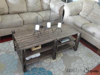 Arhaus Inspired Coffee Table