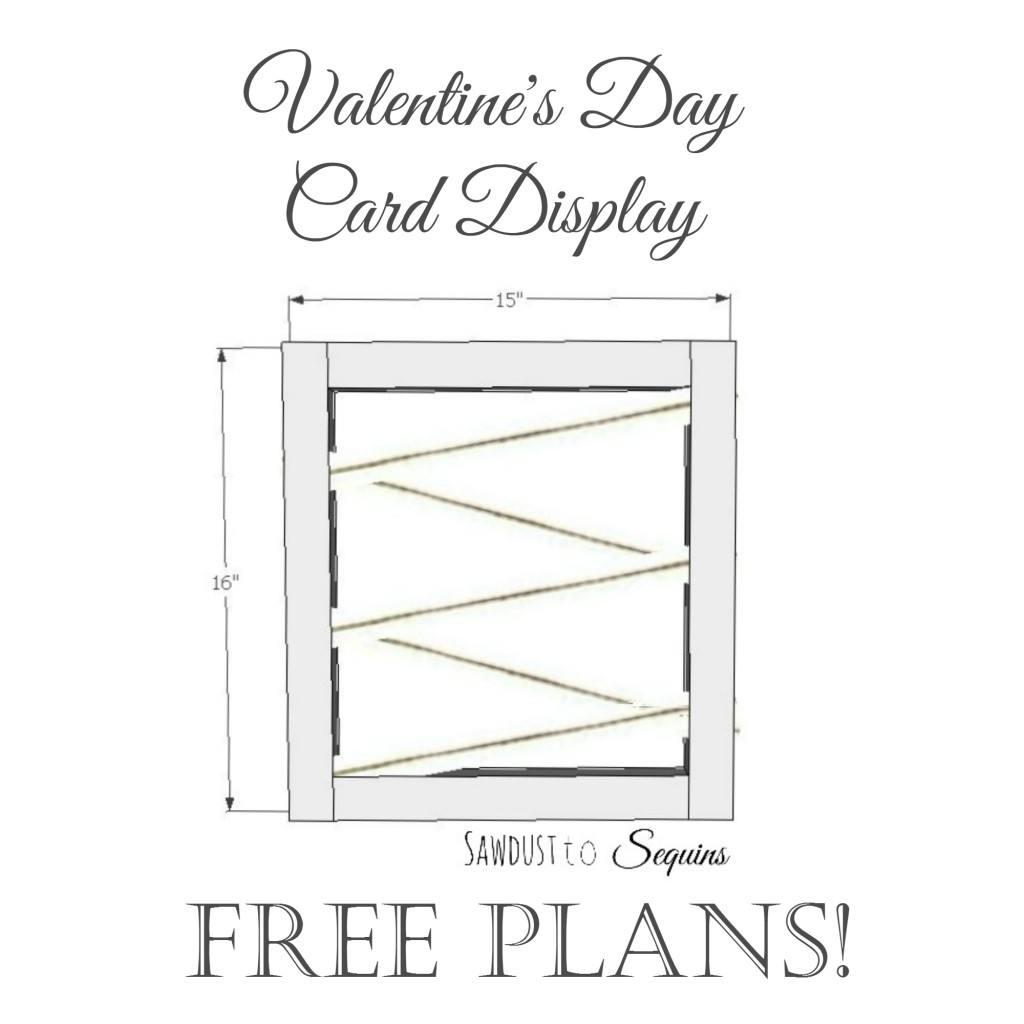 Valentine's Day Card Display Plans