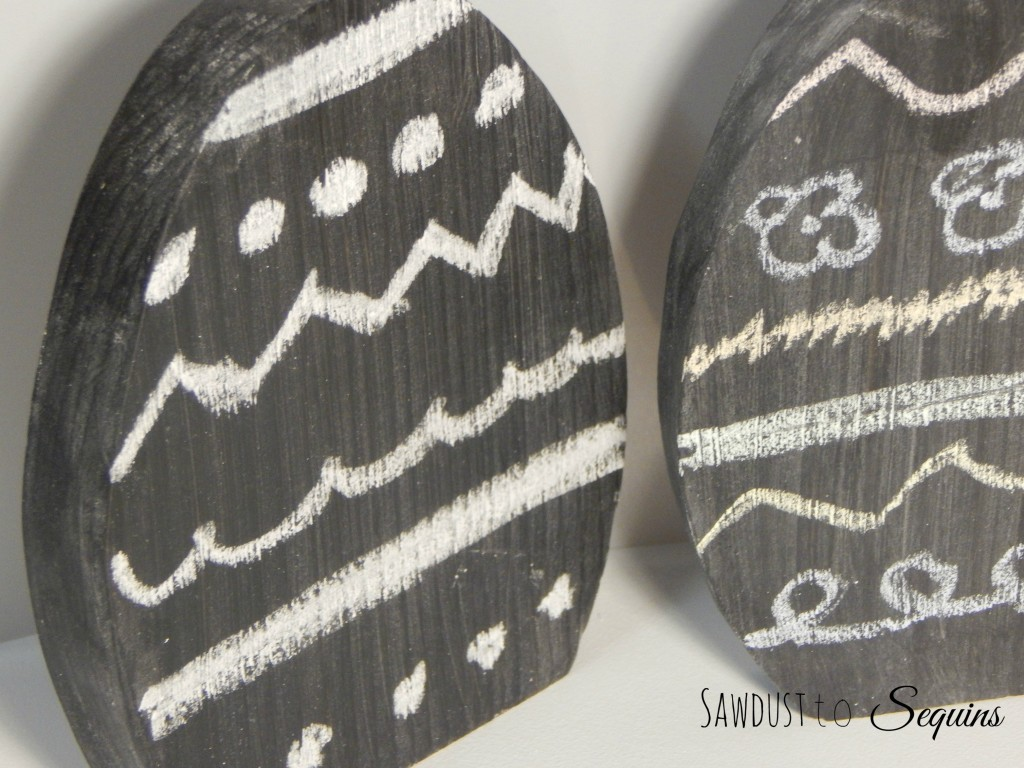 Chalk Easter Eggs
