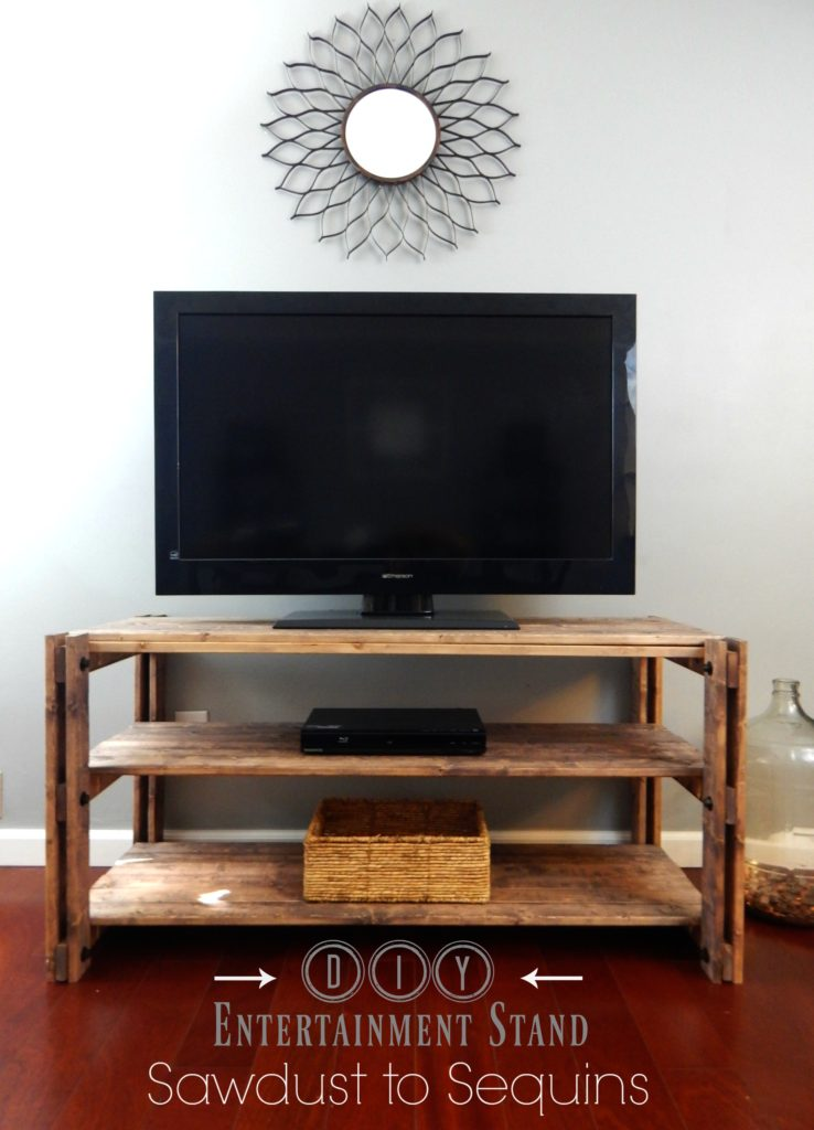 DIY Entertainment Stand