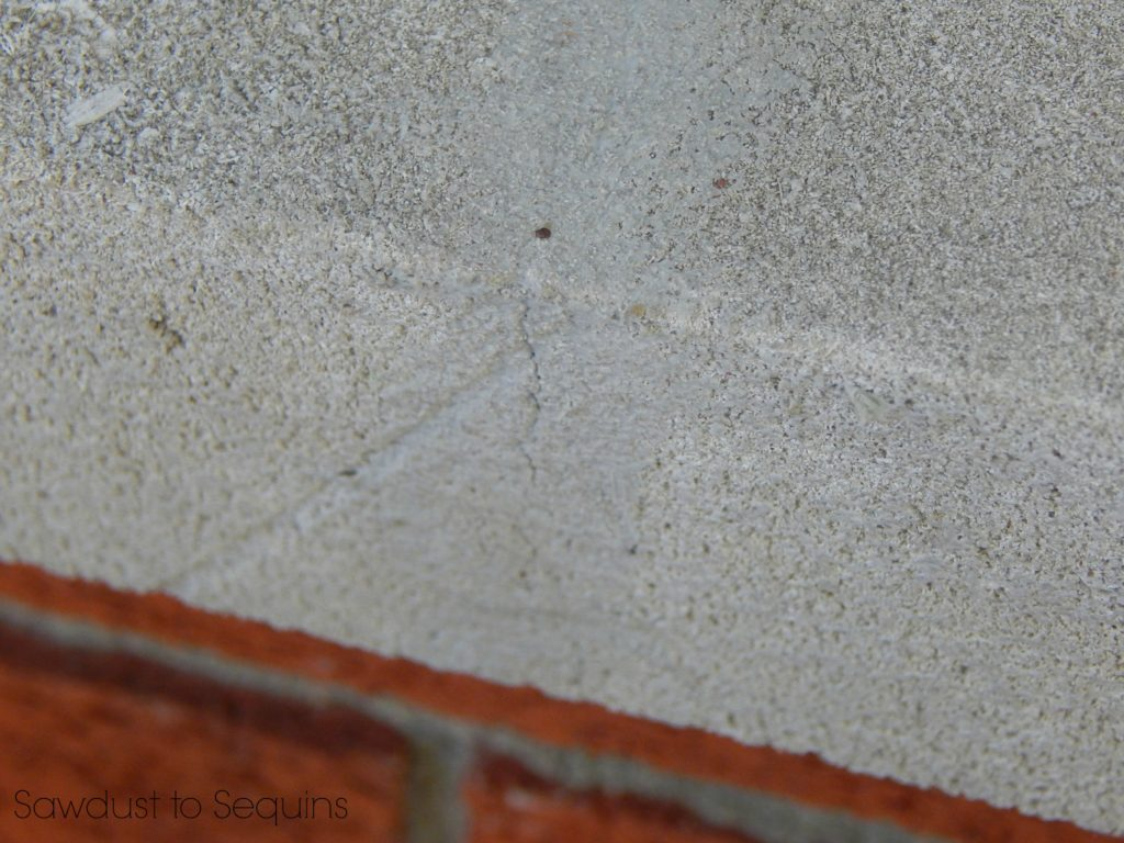 Repair Cracks - Paint a Brick Home